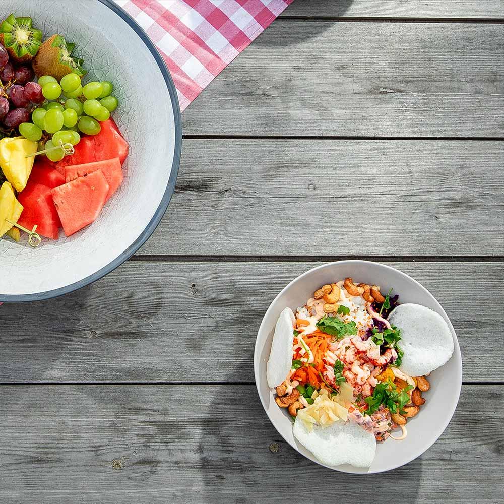 Mat på södra Gotland