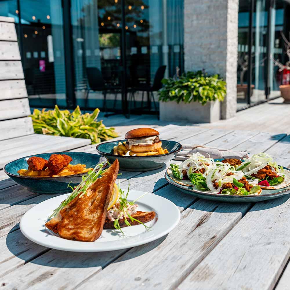 God mat under padelweekend i Visby