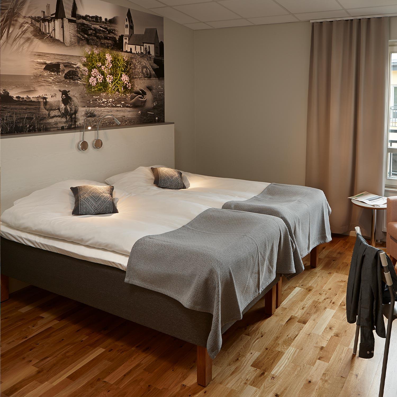 Långweekend i Visby med boende på Scandic Hotell