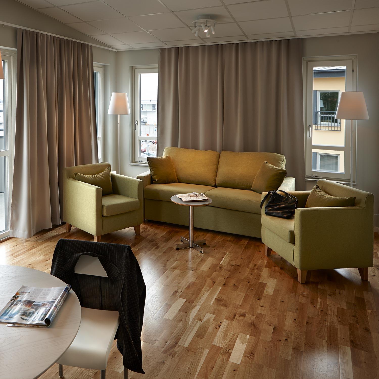 Bo i en svit under er långweekend i Visby